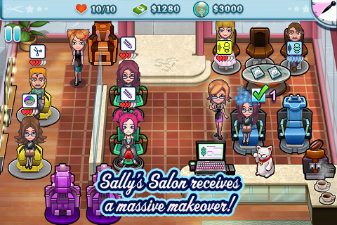 Screenshot Sally's Salon