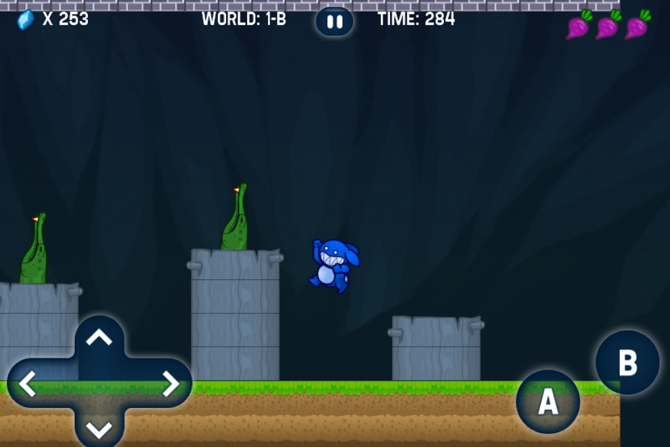 Screenshot Blue Rabbit's World FULL